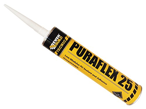 Everbuild Industrial Polyurethane 25 Sealant Black C3