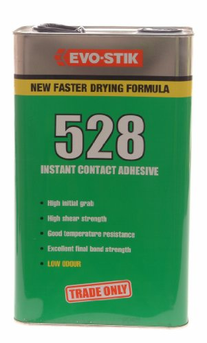 Evo Stik 528 Instant Contact Adhesive 5 Litre