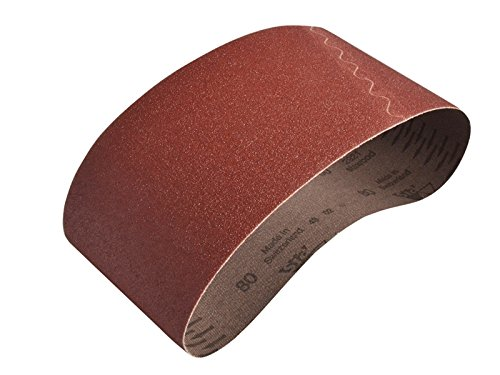 Faithfull Cloth Sanding Belt 560 x 100mm 80g