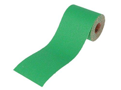 Faithfull Ar100120g Aluminium Oxide Paper Roll 100 X 50m 120g - Green