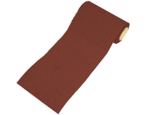 Faithfull Ar11560r Aluminium Oxide Paper Roll 115mm X 50m 60g - Red Heavy Duty