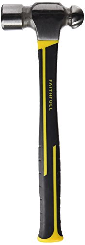 Faithfull Ball Pein Hammer Fibreglass Shaft 1.36kg (3lb)