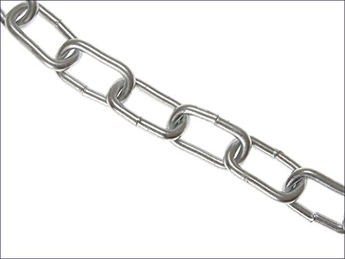 Faithfull Zinc Plated Chain 6mm x 10m Box - Max Load 250kg