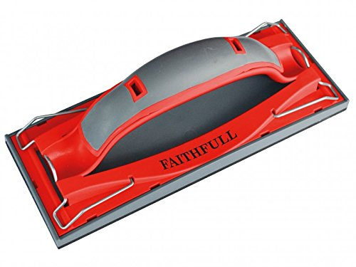 Faithfull Drywall Quick Grip Hand Sander 223 x 85mm (8.3/4 x 3.1/3in)