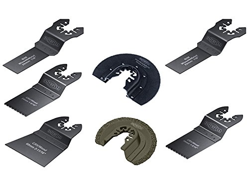 Faithfull Multi-Function Tool Blade Set of 7