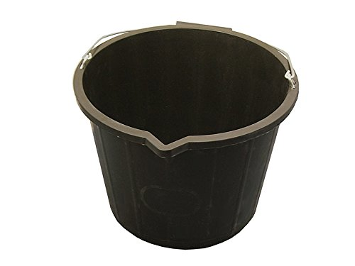 Faithfull General Purpose Bucket - Black