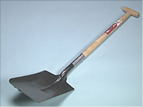 Faithfull Open Socket Square Shovel No.2 T Handle