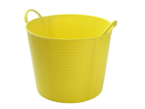 Faithfull Polyethylene Flex Tub 60l Yellow