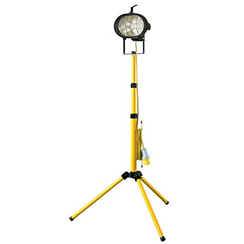 Faithfull Single Tripod Site Light 500W 110V