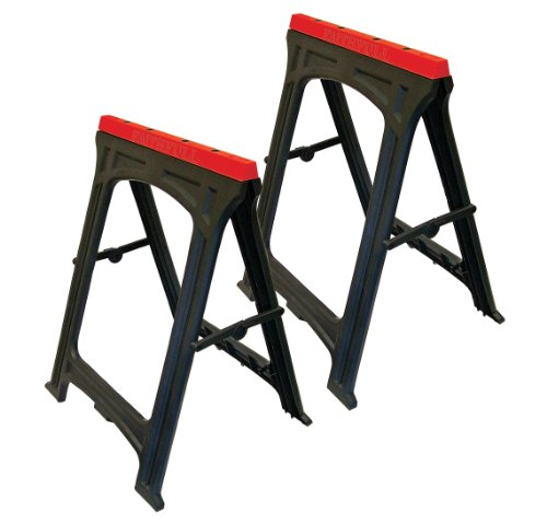 Faithfull Trestlesp Plastic Trestles 82cm X 57cm (set Of 2)
