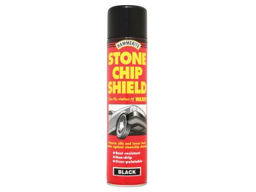 Hammerite Stonechip Shield Black Aerosol 600ml