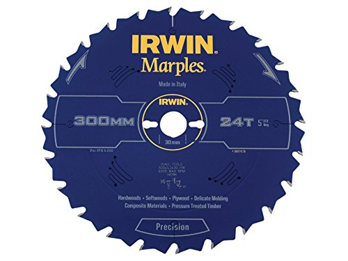 Irwin Marples Table & Mitre Circular Saw Blade 300 x 30mm x 24T ATB