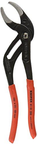 Knipex Plastic Pipe Grip Pliers Black 250mm - 80mm Capacity