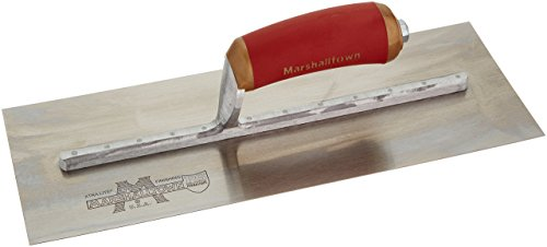 Marshalltown Pre-Worn PermaShape® Finishing Trowel DuraSoft® Handle 14 x 5in
