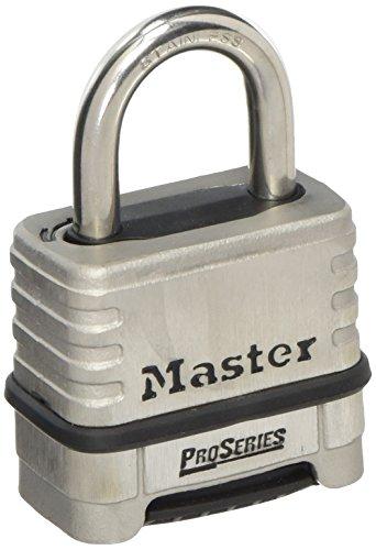 Master Lock ProSeries® Stainless Steel 4 Digit Padlock 57mm