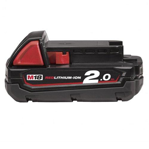 Milwaukee REDLITHIUM-ION™ Slide Battery Pack 18V 2.0Ah Li-ion