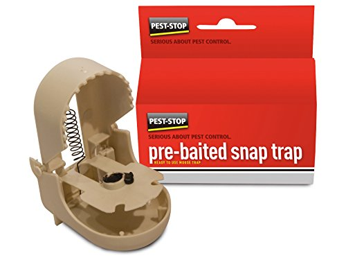 Pest-Stop Pre-baited Snap Trap For Mice