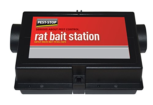 Pest-Stop Rat Bait Station (Plastic)