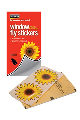 Pest-Stop Window Fly Stickers Pack of 4