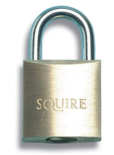 Henry Squire LN5T Lion Brass Padlocks 5-Pin 50mm Twin Pack