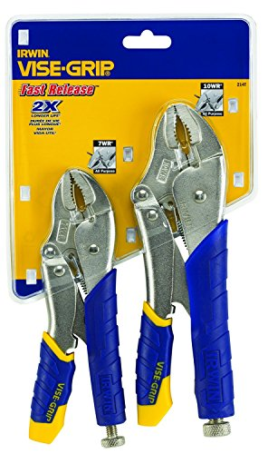 IRWIN Vise-Grip Fast Release? Locking Pliers 7WR & 10WR Set of 2