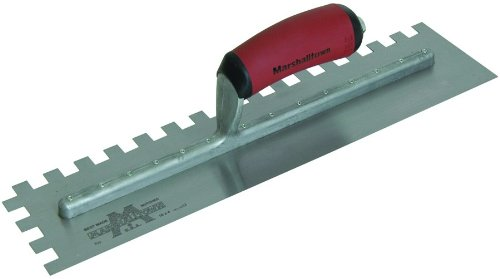 Marshalltown U Notched Trowel 1/2