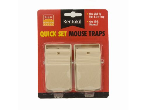 Rentokil Quick Set Twin Mouse Trap