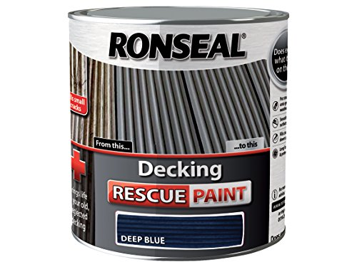 Ronseal Decking Rescue Paint Deep Blue 2.5 Litre
