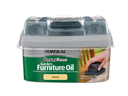 Ronseal 750ml Perfect Finish Hardwood Garden Furniture Oil - Natural