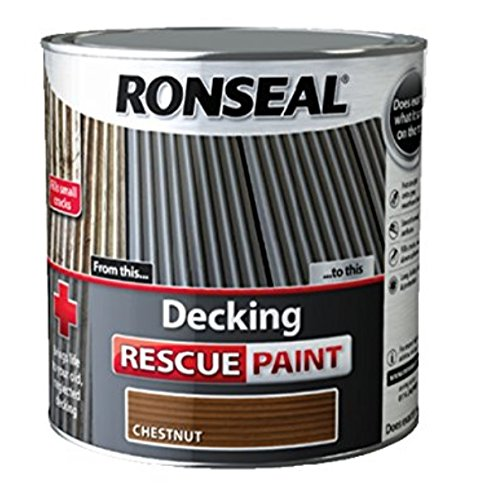 Ronseal Decking Rescue Paint Chestnut 5 Litre