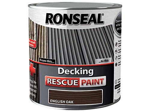 Ronseal Decking Rescue Paint English Oak 5 Litre