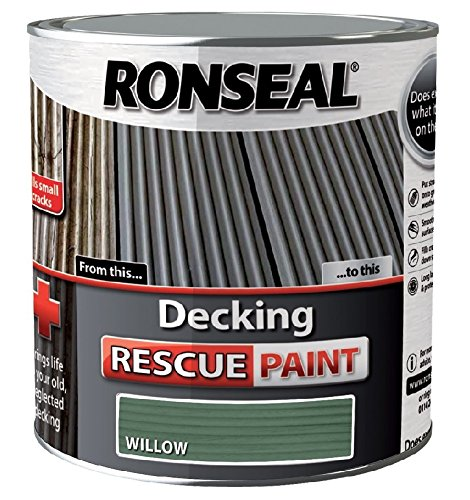 Ronseal Decking Rescue Paint Willow 5 Litre