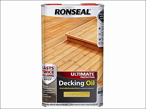 Ronseal Ultimate Protection Decking Oil Natural Pine 5 Litre