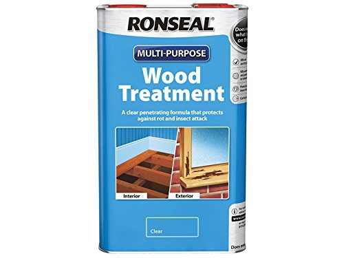 Ronseal Rslwt25l 2.5 Litre Multi-purpose Wood Treatment - Natural