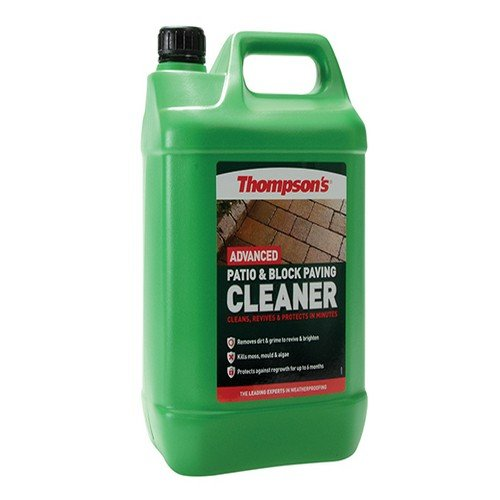 Ronseal Tpbpcp5l Patio & Block Paving Cleaner Protect 5 Litre