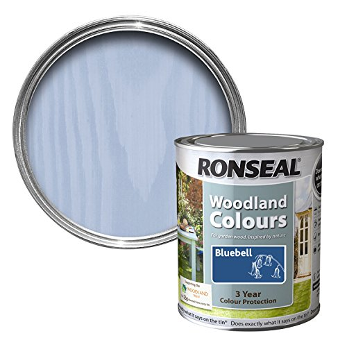 Ronseal Wtcbb750 750ml Woodland Trust Colours - Bluebell