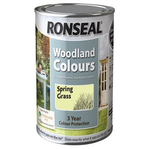 Ronseal Wtsprg750 Woodland Colours Spring Green 750ml