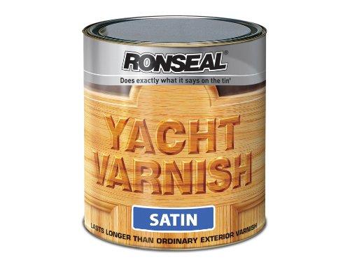Ronseal Yvs25l Exterior Yacht Varnish Satin 2.5 Litre