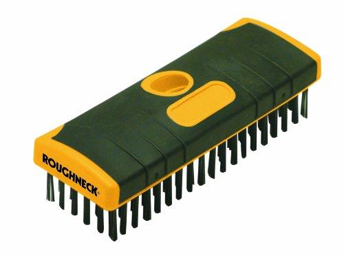 Roughneck Heavy-Duty Scrub Brush Soft-Grip 200mm (8in)
