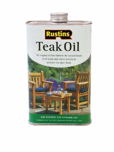 Rustins 1l Teak Oil