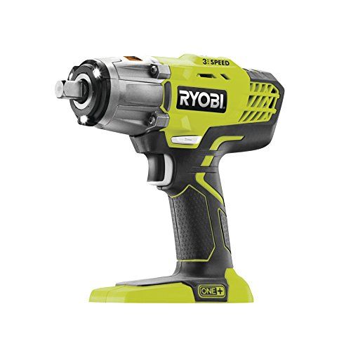 Ryobi One+ 3 Speed Impact Wrench 18v Bare Unit