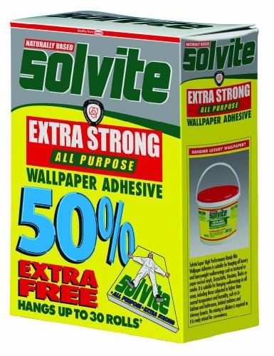 Solvite All Purpose Wallpaper Adhesive Decorator's Box