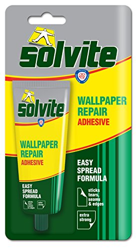 Solvite Wallpaper Repair Adhesive Tube Ref 1574678, 56 G