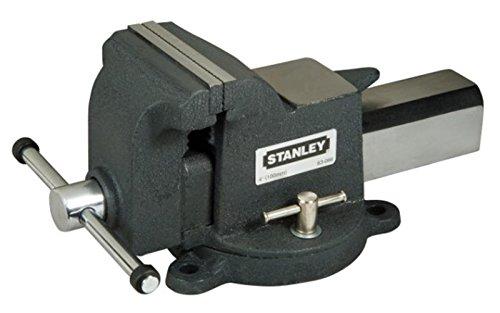 Stanley Tools MaxSteel Heavy-Duty Bench Vice 125mm (5in)
