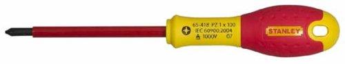 Stanley Tools FatMax Screwdrivers Insulated Pozi Tip PZ2 x 125mm