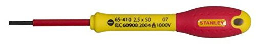 Stanley FatMax® VDE Insulated Screwdriver Parallel Tip 2.5 x 50mm