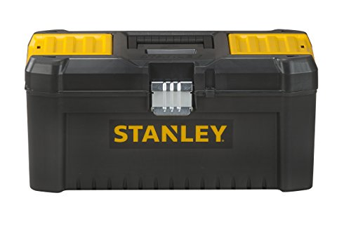 Stanley Essential Tool Box, Black/yellow, 16-inch