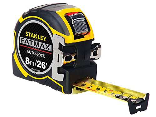 Stanley FatMax® Autolock Pocket Tape 8m/26ft (Width 32mm)