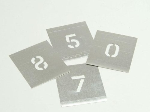 Set of Zinc Stencils - Figures 2in Walleted