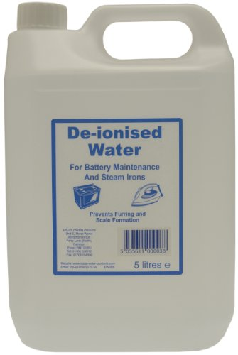 Top Up Water Dw005 De-ionised Water 5 L